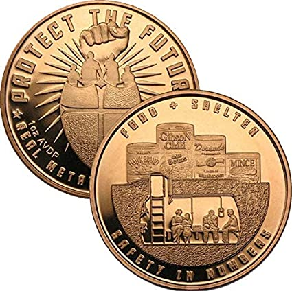Jig Pro Shop Zombucks Series 1 oz .999 Pure Copper Round//Challenge Coin