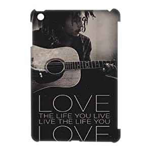 Ipad Mini 3D DIY Phone Back Case with Bob Marley Image
