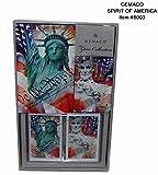 Gemaco 2132608 Spirit of America Bridge Set - Case of 24