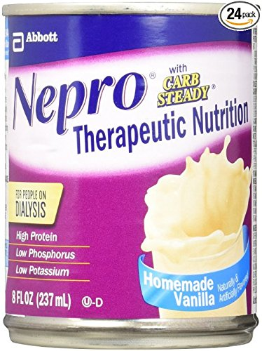 Nepro Complete Nutrition With Carb Steady Vanilla Liquid   8 Oz   Can  Case Of 24