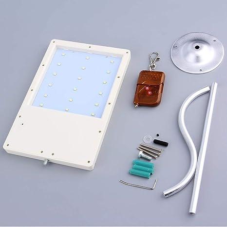 OurLeeme 18 Solar LED Sensor de movimiento Desarrollado Camino de montaje en pared exterior de luz
