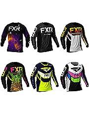 FDWEAEF Men Motocross Jersey Dirt Bike Riding Apparel Quick Dry Cycling Racing MTB Shirt Motorcycle