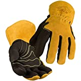 Revco Industries BM88L BSX BM88 Extreme Pig Skin MIG Welding Gloves, Water Proof, Large