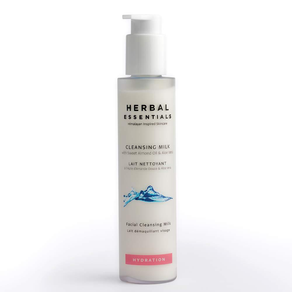 Amazon.com: Leche de limpieza Herbal Essentials con aceite ...