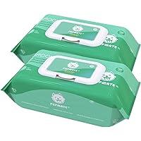 PUPMATE Lingettes de toilettage, 200 Extra Humide et épais Désodorisant et hypoallergénique Puppy Lingettes pour Chiens et Chats