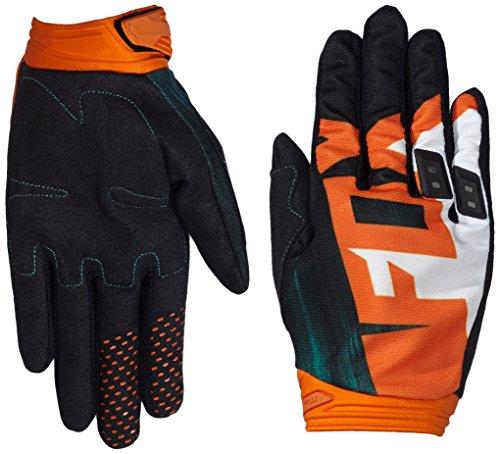 Fox Racing Dirtpaw Vandal Men's Off-Road Motorcycle Gloves - Green/Orange / 2X-Large ()