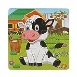 jeux éducatifs,Xinan Bois de vache laitière pour l'éducation des enfants et des jouets d'apprentissage