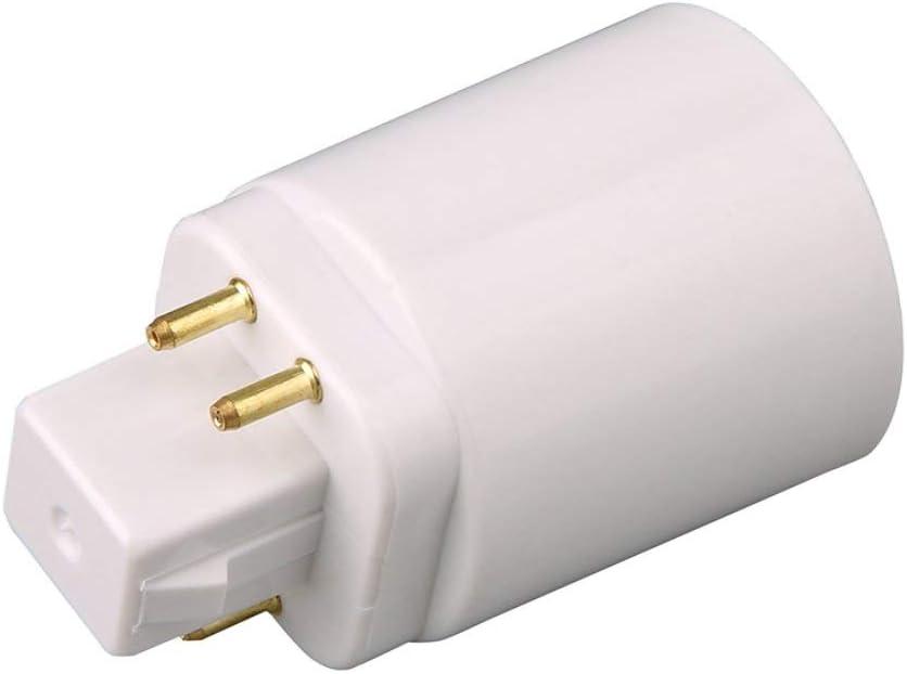 Adaptateur de lampe /à LED Adaptateur de douille GX24Q /à E27 Convertisseur de douille /à vis /à 4 broches Prolongateur de lampe /à visser fghfhfgjdfj