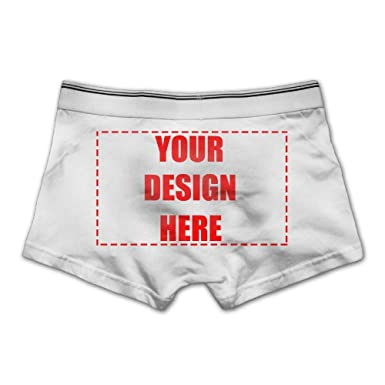 a16402a5b96 Custom Personalized Men s Boxer Brief Underwear Add Your Own Image Shorts