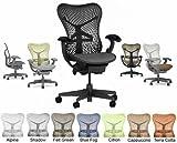 Herman Miller Mirra Office Desk Chair - BASIC Graphite Frame Graphite Backrest