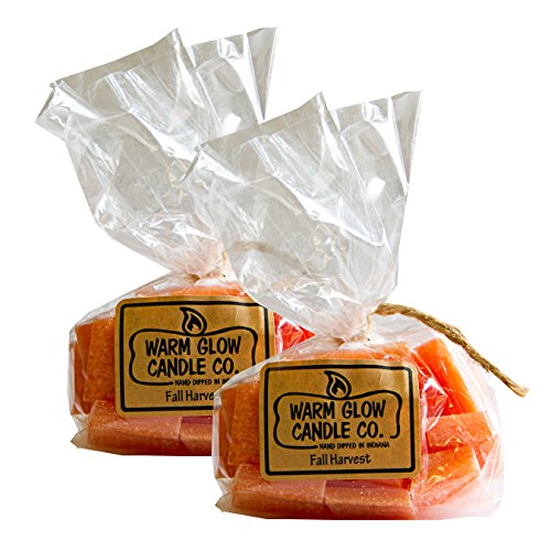 Warm Glow Candle Company Fall Harvest Scent Chips 2 Pack