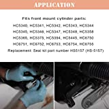 Front Mount Hydraulic Steering Cylinder Seal Kit