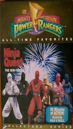 Amazon.com: Ninja Quest Mini-Series [VHS]: Paul Schrier ...