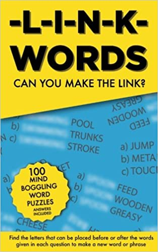 Link words 100 word puzzles can you find the 1 word that links link words 100 word puzzles can you find the 1 word that links the other 3 together amazon clarity media 9781541247550 books expocarfo