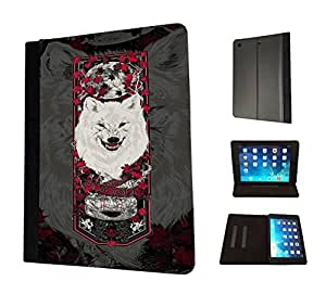 519 - Game of Thrones Sigil House Stark Symbol Emblem Jon Snow Design Fashion Trend TPU Leather Flip Case For Apple iPad Air 1 2013 Full Case Flip TPU Leather Purse Pouch Defender Stand Cover