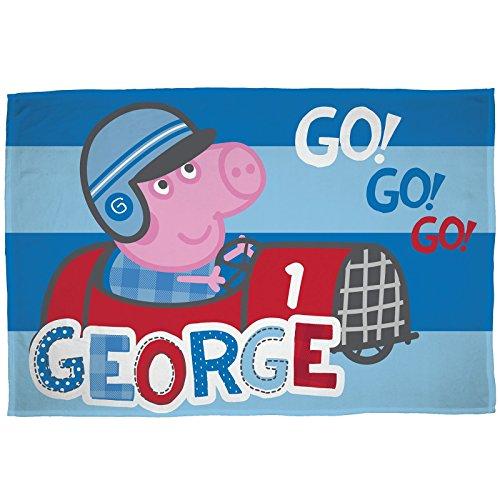 Peppa Pig George Speed Fleece Blanket -
