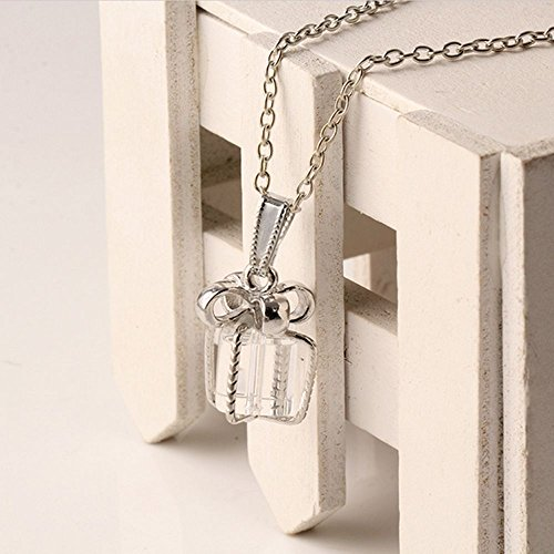 Elegant Glass Pendants Women Necklaces Crystal Necklace Jewelry Box - Box Chaise Jewelry