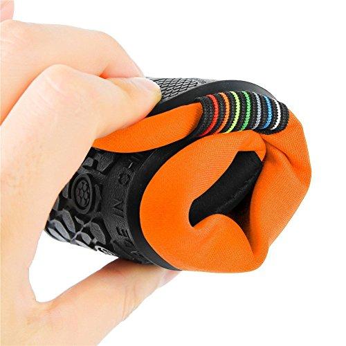 Newcosplay Scarpe A Piedi Nudi Calze Yoga Quick-dry Slip-on Per Donna Uomo Bambini Bevelorange