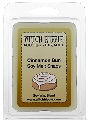 Cinnamon Bun Scented Wickless Candle Tarts, 6 Natural Soy Wax Cubes, A Cinnamon Accord With Warm Nutty Undertones Along With The Aroma Of Fresh Baked Bread, Similar To Ginger Bread Cookie