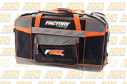 Factory FMX Motorcross Gear Bag XLarge Orange by Factory Racing (Image #1)