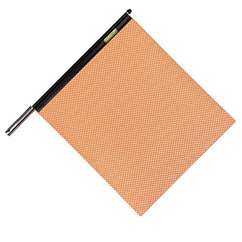 """(Oversize Warning Products - Quickmount Warning Flag Orange 18"""" x 18"""")"""