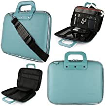 Blue SumacLife Cady Briefcase Bag for Acer Aspire R 14 14-inch Laptops