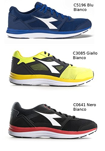 Diadora 171439 SC Um Heron C5196 Blue C3085-GIALLO-BIANCO outlet newest F6Bbwm
