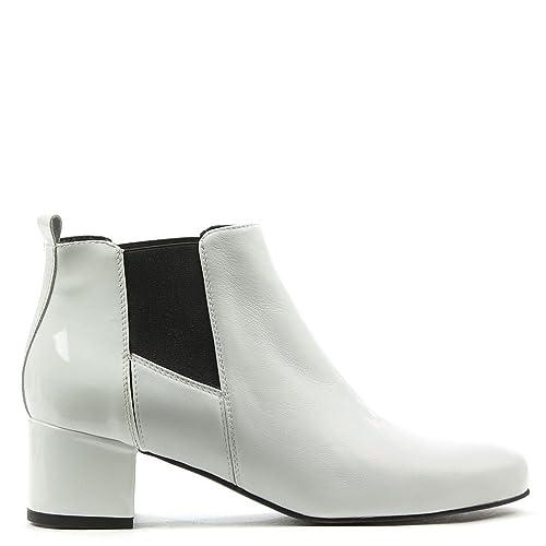 premium selection 43e0c 1bbb4 Daniel , Damen Chelsea Boots , weiß - White Leather - Größe ...