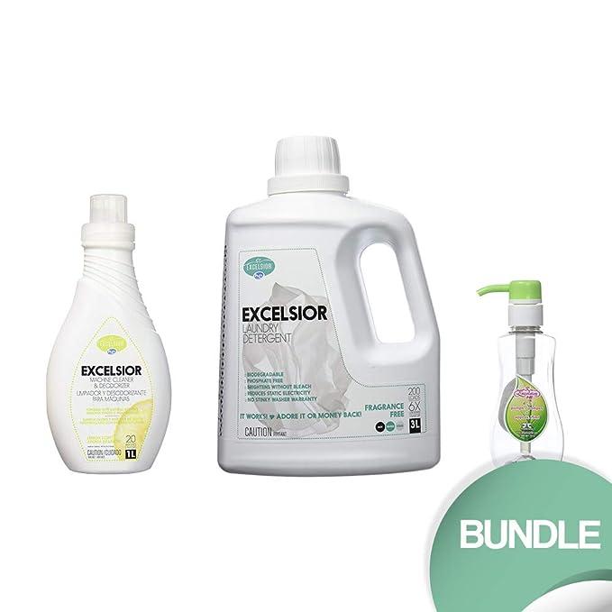 Excelsior HECLEAN1L-U HE - Limpiador y desodorante para lavadora ...