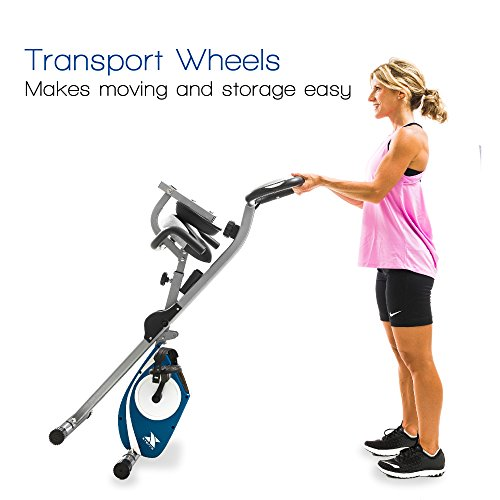 XTERRA Fitness FB350 Folding Exercise Bike, Silver by XTERRA Fitness (Image #5)