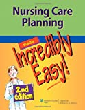 Nursing Care Planning, Lippincott Williams and Wilkins Staff, 1609136047