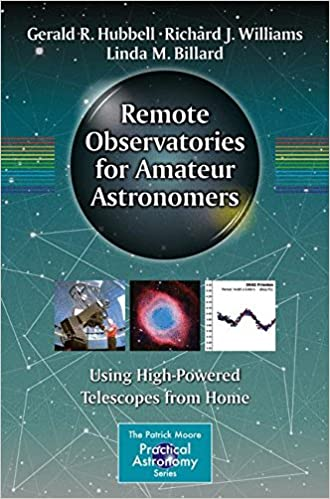 Using High-Powered Telescopes from Home Remote Observatories for Amateur Astronomers