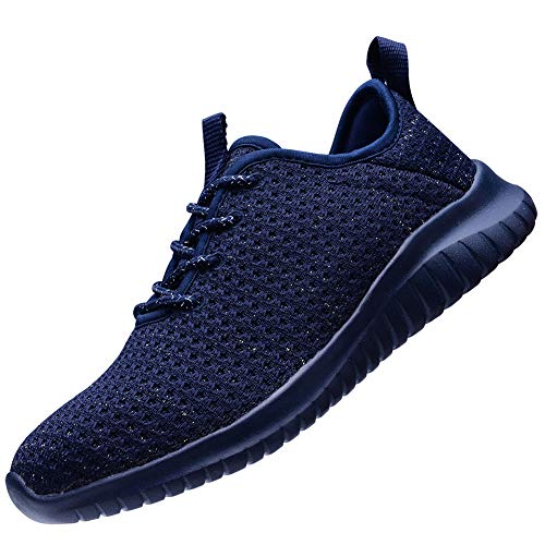 Breathable 2111 All Sports Blue Trainers Stylish Womens Run TIOSEBON Lightweight xqApIA4