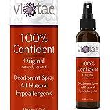 100% Natural, Aluminum Free Deodorant Spray