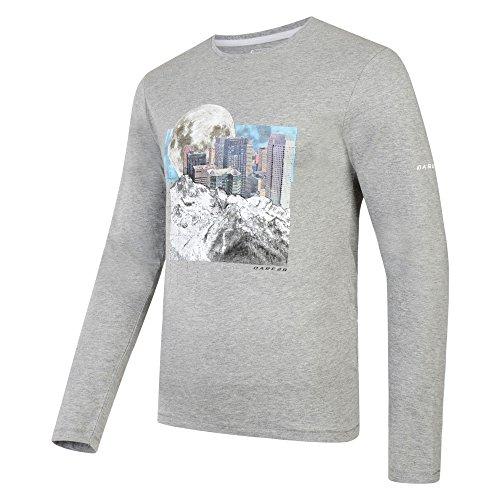 Dare 2b Mens coalesce T-Shirt (S) (Ash (Dare S/s Tee)