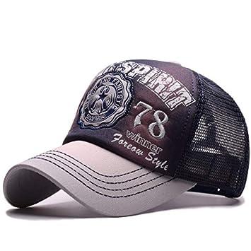 GKRY Baseball Cap/Gorras de béisbol Gorra de Trucker/Outdoor Running Cap/Snapback Hat/Gorras Beisbol/Letras Bordadas Masculinas y Femeninas, Azul Oscuro: ...