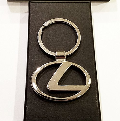 LEXUS Metal Silver Key Chain New in Box LEXUS Key chain