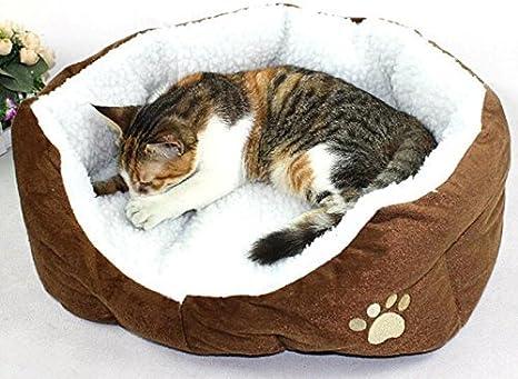 Aikesi Cama para Mascotas Caliente Suave Casa para Mascotas Cama para Perro Gato y Otros Animales,Size S: Amazon.es: Juguetes y juegos