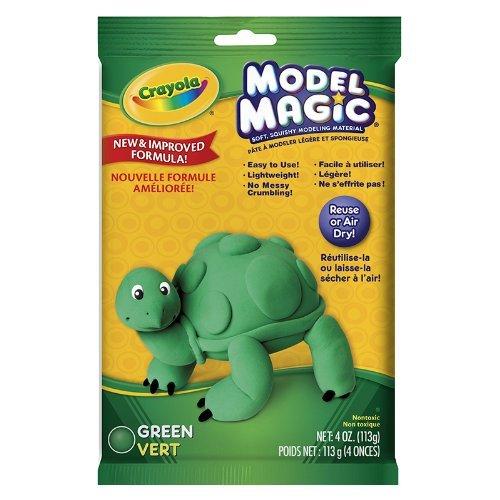 CRAYOLA LLC MODEL MAGIC 4 OZ GREEN (Set of 12) from Crayola
