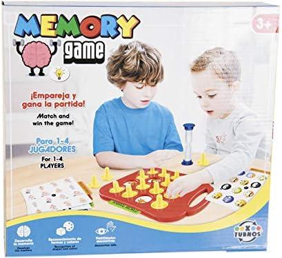 XTURNOS Juego Puzzle Memory Game: Amazon.es: Juguetes y juegos