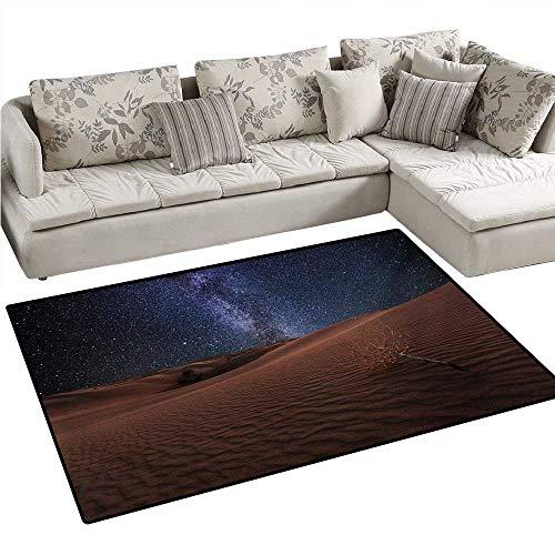 Oasis Filter Replacement Pet - Space Bath Mats Carpet Life on Mars Themed Surreal Surface of Gobi Desert Dune Oasis Lunar Adventure Photo Door Mats for Inside Non Slip Backing 40
