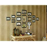 XXHDYR 15 Multi European Photo Wall Photo Frame Wall Combination of Retro Diamond Creative Photo Wall Mediterranean Photo Frame Photo Wall
