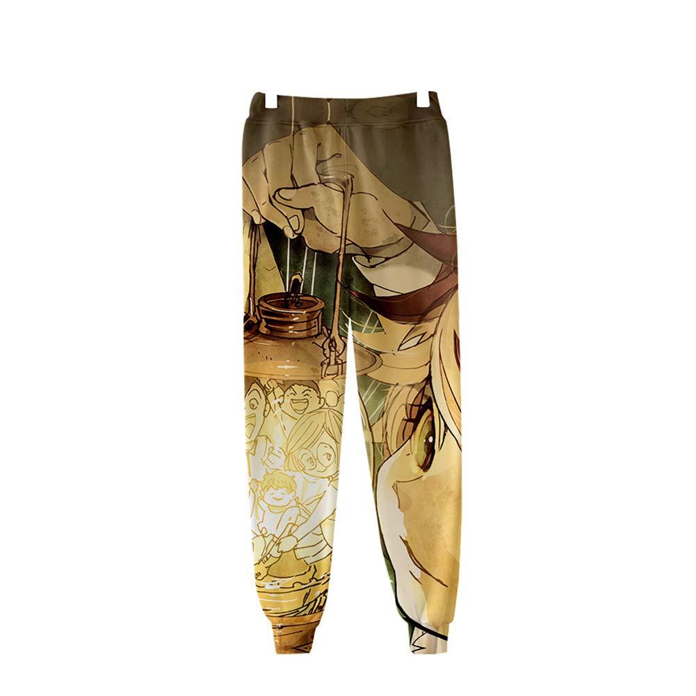 Zcbm Unisex Adultos Adolescentes 3D Impresión Pantalones De ...