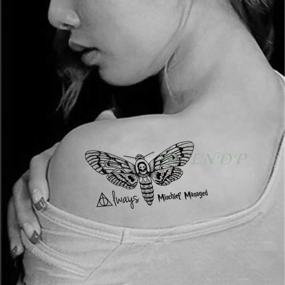 tzxdbh Etiqueta engomada del Tatuaje a Prueba de Agua Red Sailor ...