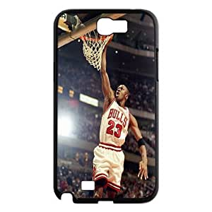 Custom High Quality WUCHAOGUI Phone case Super Star Michael Jordan Protective Case For Samsung Galaxy Note 2 Case - Case-5