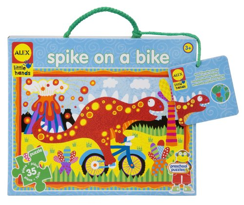 ALEX Toys Little Hands Giant Puzzle Spike On A Bike