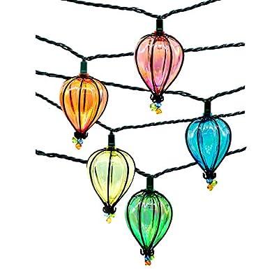 String Lights,Backyard Patio Lights,Hanging Indoor/Outdoor String Lights for Bistro Tents Market Cafe Gazebo Porch Letters Party Decor