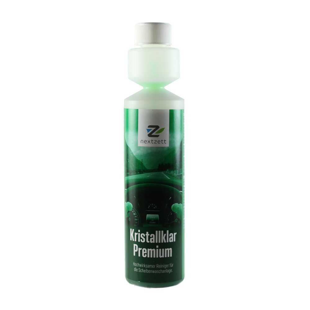 nextzett 92100815 Kristall Klar Washer Fluid 1:200 Concentrate - 8.5 fl. oz