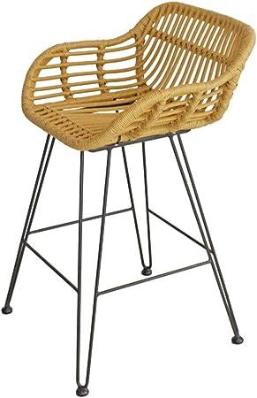 Tabouret De Bar De Style Industriel Chaise Vintage Avec