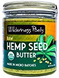 Wilderness Poets Hemp Seed Butter - Organic, Raw, Seed Spread (8 Ounce)